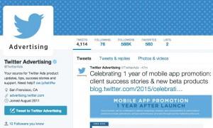 promovare twitter