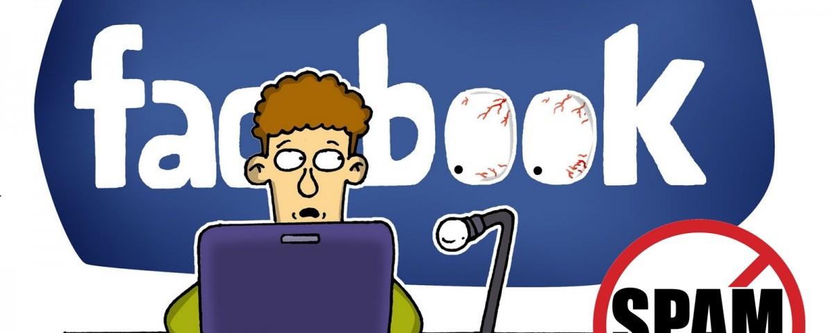 spam pe facebook